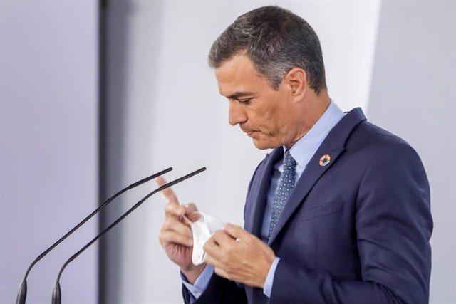Pedro Sánchez ofrece una rueda de prensa posterior al Consejo de Ministros