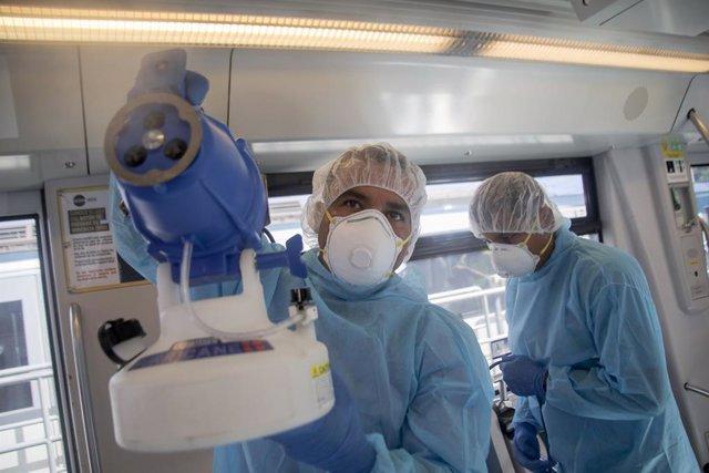 Coronavirus.- Las enfermeras de Panamá protestan por sus condiciones de trabajo
