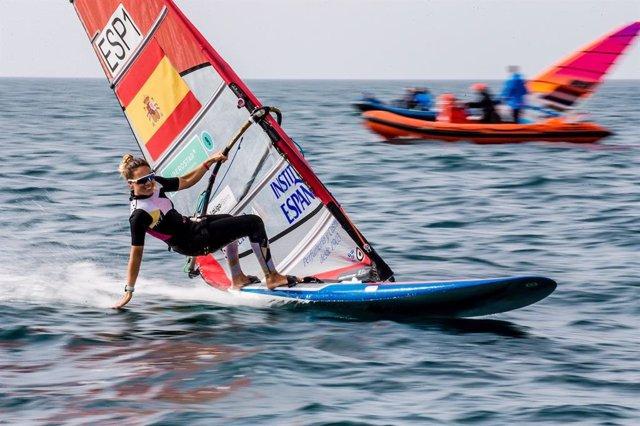 Blanca Machón en el 49 Trofeo Princesa Sofía Iberostar