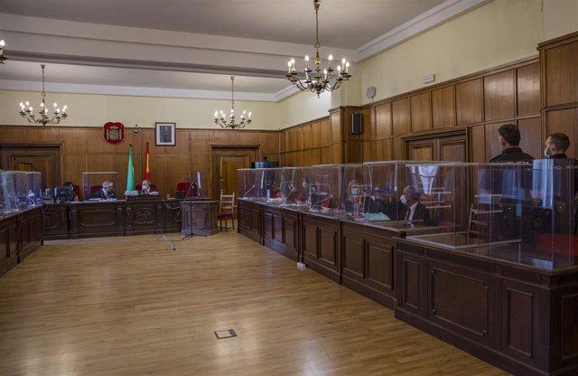 """Sevilla.- Tribunales.- AMP.- Forenses del crimen de Gerena señalan un """"golpe por"""