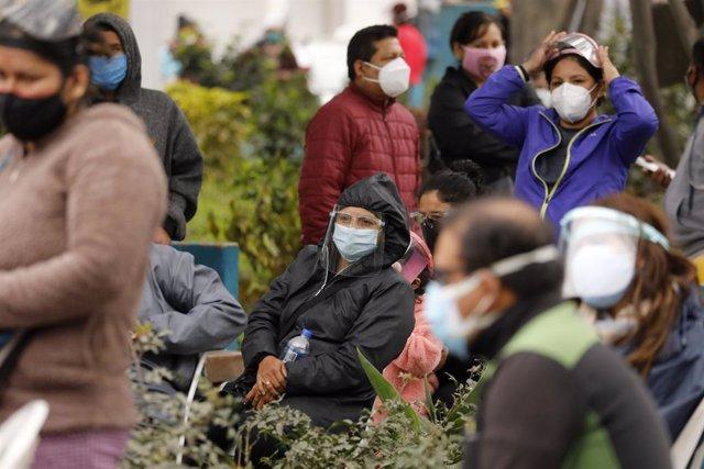 Coronavirus.- Perú supera los 600.000 casos de coronavirus y los 28.000 fallecid