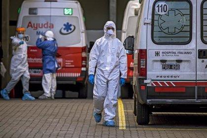 Coronavirus.- Argentina enlaza un nuevo récord de contagios con 8.771 casos en un día