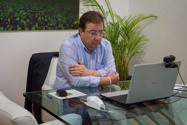 """Fútbol.- Fernández Vara cree que si Messi quiere cambiar de equipo """"quizás sea l"""
