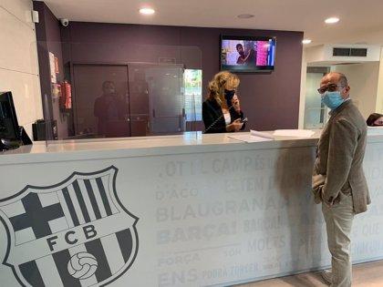 AMP.- Fútbol.- El precandidato Jordi Farré presenta la moción de censura contra Bartomeu y 'Manifest Blaugrana' se suma