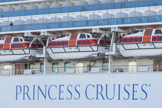 El crucero 'Diamond Princess' en Japón
