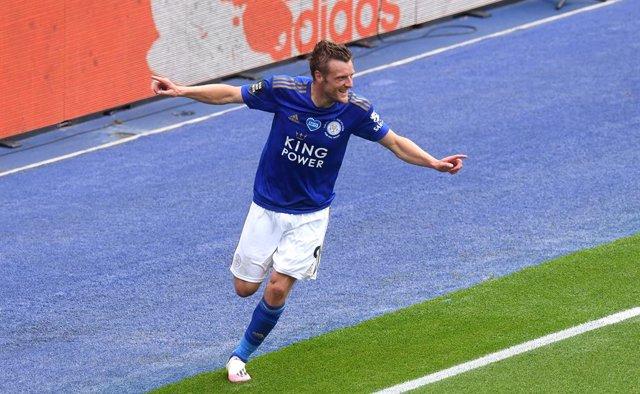 Fútbol.- Jaime Vardy renueva con el Leicester hasta 2023