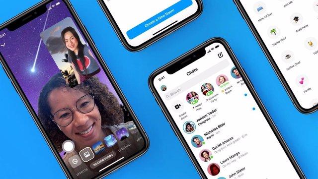Messenger potencia la creación, personalización y descubrimiento de nuevas Salas