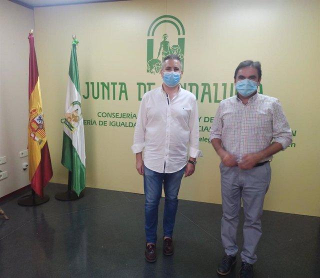 Antonio Sutil y Miguel Moreno.