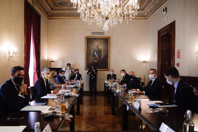 Coronavirus.- España y Francia reafirman su cooperación en seguridad y en la ges