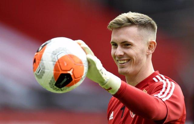 Fútbol.- Henderson defenderá la portería del Manchester United hasta 2025