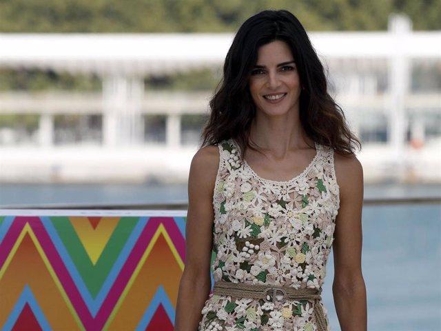 """Clara Lago, de lo más sonriente, ha vuelto al Festival de Cine de Málaga para presentar """"Crónica de una tormenta"""""""