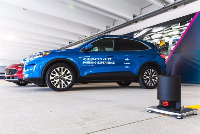 Economía/Motor.- Ford, Bedrock y Bosch testarán un sistema de aparcamiento autom
