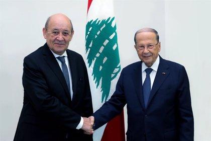 Líbano.- Francia alerta del riesgo de que Líbano desaparezca a menos que se acometan las reformas necesarias