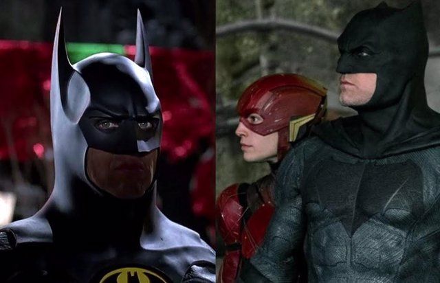 Ezra Miller, Michael Keaton y Ben Affleck confirmados en The Flash