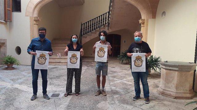 Presentación de la jornada solidaria a favor de la Fundación Vicente Ferrer.
