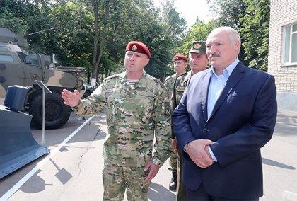"Bielorrusia.- Lukashenko denuncia una ""masacre diplomática"" contra Bielorrusia"