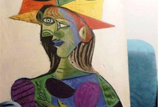 Busto de Mujer, de Picasso