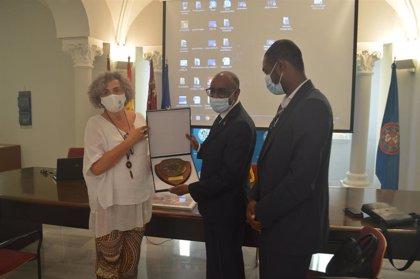La UPCT plantea un acuerdo de colaboración con Mauritania para atraer a estudiantes del país africano