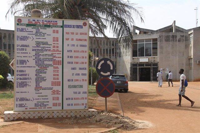 Hospital universitario de Lomé, en la capital de Togo