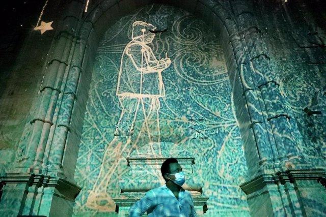 Exhibición artística en Lisboa