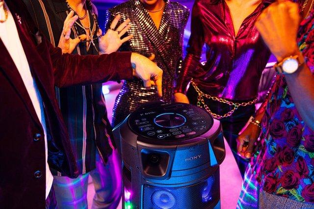 Sony anima las fiestas con los nuevos altavoces de la gama High Power Audio con