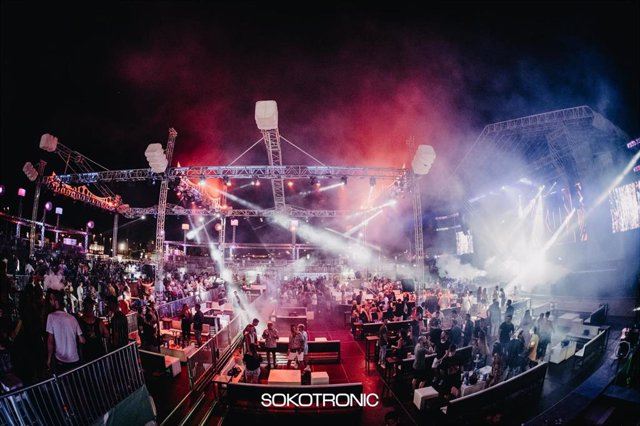 Imagen de una de las noches en Soko