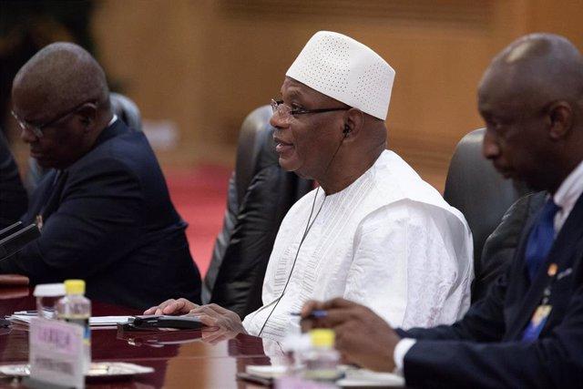 El expresidente de Malí, Ibrahim Boubacar Keita
