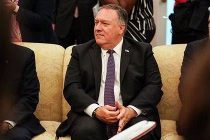 Irán.-Pompeo asegura que las sanciones contra Irán se retomarán a finales de septiembre a pesar de la decisión de la ONU
