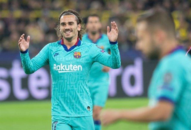 Fútbol.- Koeman convence a Griezmann para continuar en el FC Barcelona