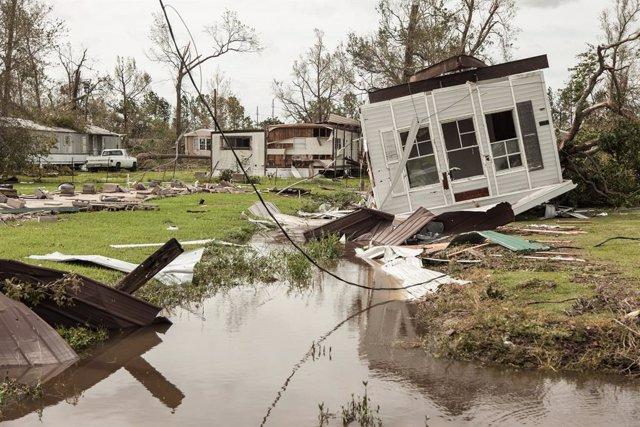 Clima.- Aumentan a seis los muertos en Luisiana por el paso del ciclón 'Laura'