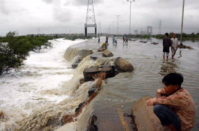 Pakistán.- Más de 40 muertos en la ciudad paquistaní de Karachi por las peores l