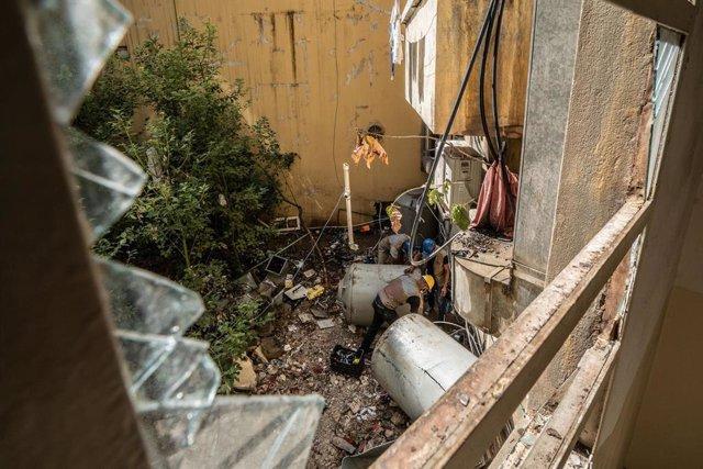 Líbano.- UNICEF denuncia que 300.000 residentes de Beirut siguen sin acceso plen