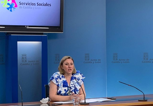 La consejera de Familia e Igualdad de Oportunidades, Isabel Blanco.
