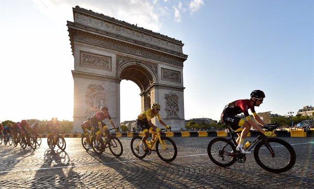 Ciclismo/Tour.- (Previa) Bernal defiende maillot amarillo en el Tour de la pande