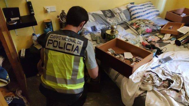 Operación policial en Palma contra una red internacional de carteristas.