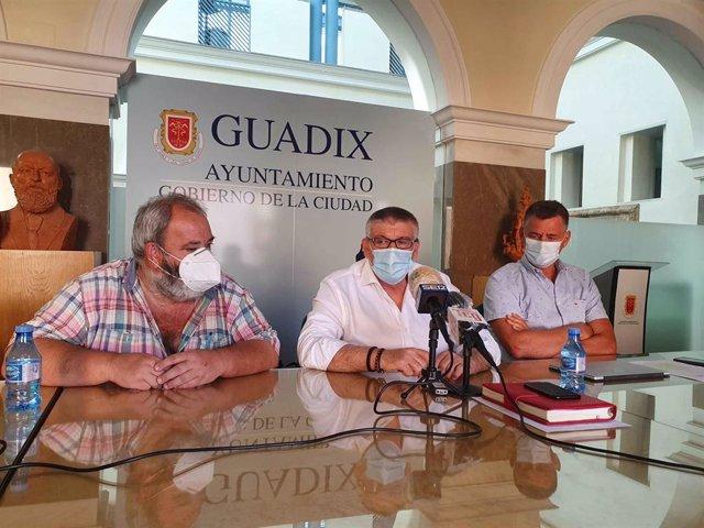 Rueda de prensa sobre hallazgos arqueológicos en el Barrio Latino de Guadix