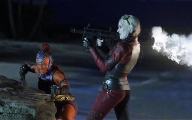 Imagen del rodaje de 'El Escuadrón Suicida' de James Gunn
