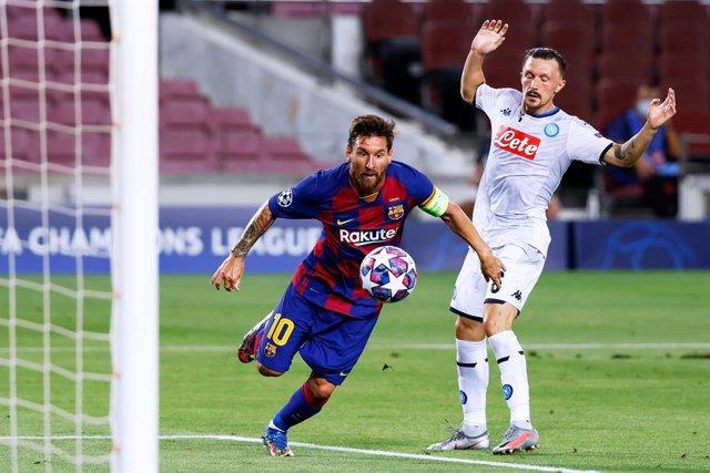 Fútbol/Champions.- Messi y Oblak entran en la mejor plantilla de la Champions pa