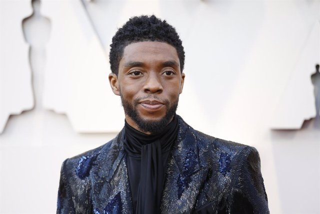 HOLLYWOOD, CA February 24, 2019 Chadwick Boseman during the arrivals at the 91st Academy Awards on Sunday, February 24, 2019 at the Dolby Theatre at Hollywood & Highland Center in Hollywood, CA. (Jay L. Clendenin / Los Angeles Times/Contacto)