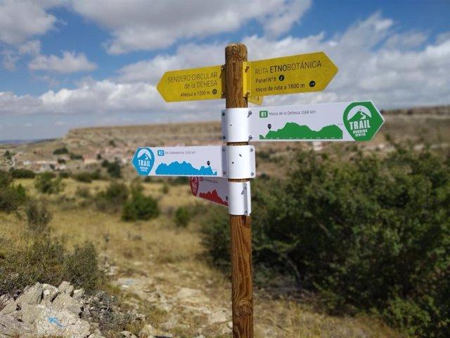 El Trail Running Center Allepuz-Geoparque del Maestrazgo ya está en marcha.