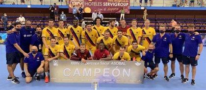 El Barça levanta su novena Supercopa Asobal consecutiva