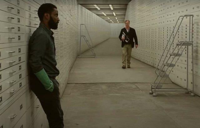 Imagen del rodaje de Tenet, la nueva película de Christopher Nolan