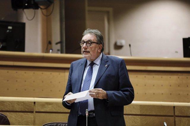 El senador Josep Lluís Cleries (JxCat).