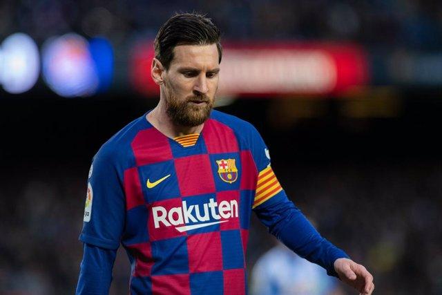 Fútbol.- Messi no asistirá al entrenamiento del Barça este domingo