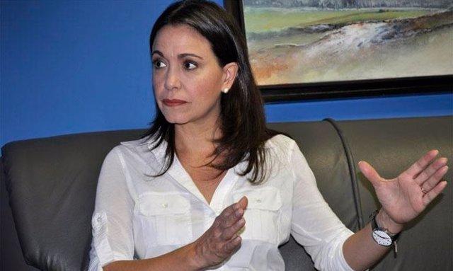 La líder de la oposición en Venezuela, María Corina Machado.