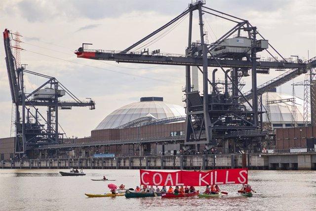 Alemania.- Ecologistas ocupan una mina de carbón en el oeste de Alemania