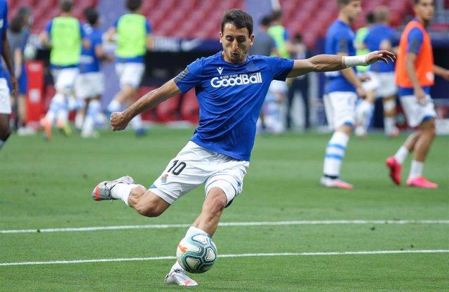 AMP.- Fútbol/Selección.- Gerard Moreno sustituye a Oyarzabal, baja por positivo