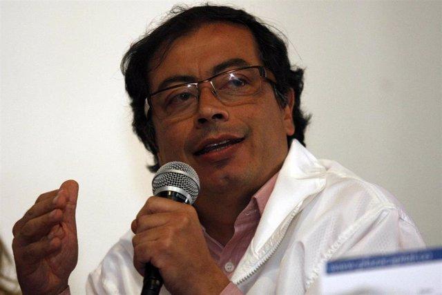 El senador colombiano Gustavo Petro