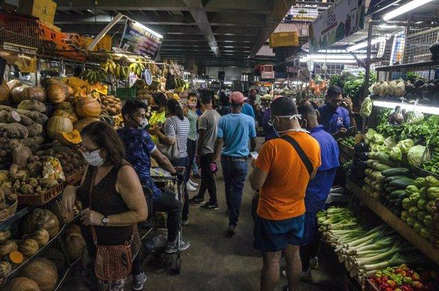 Mercado municipal de Chacao, Venezuela.