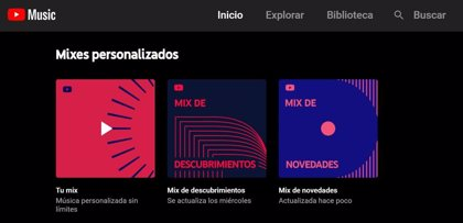 Portaltic.-YouTube Music convierte 'Tu Mix' en una lista de reproducción que actualiza a diario
